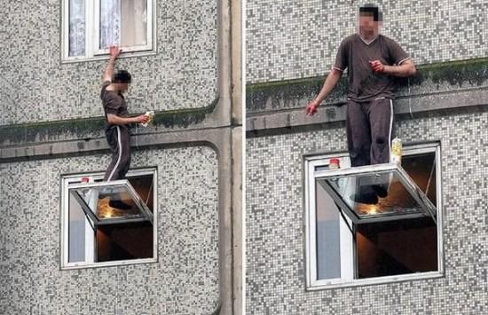 Como no limpiar ventanas