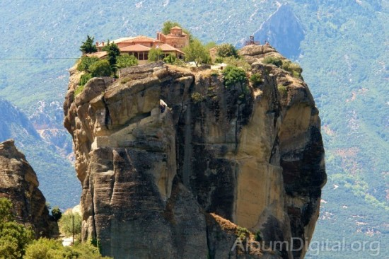 Monasterio en Meteora - Grecia