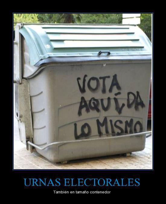 Las nuevas urnas electorales
