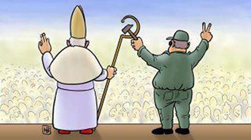 El Papa visita Cuba