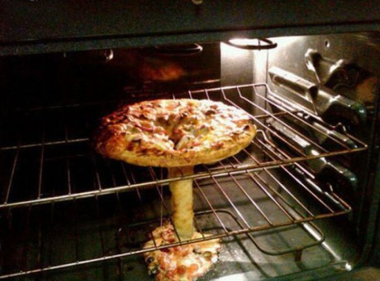 Pizza nuclear
