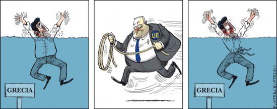 El rescate de Grecia