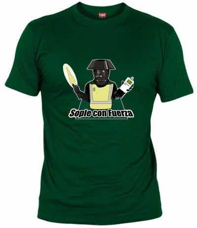 Sople con fuerza - Camiseta