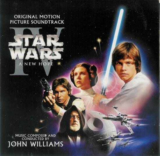 Banda sonora Star Wars - BSO de la trilogía original completa