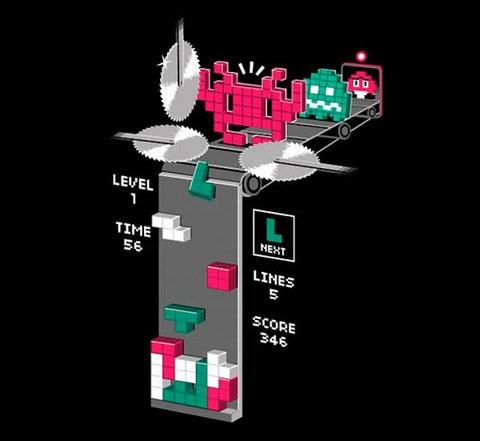 Lo que pasa de verdad en el Tetris