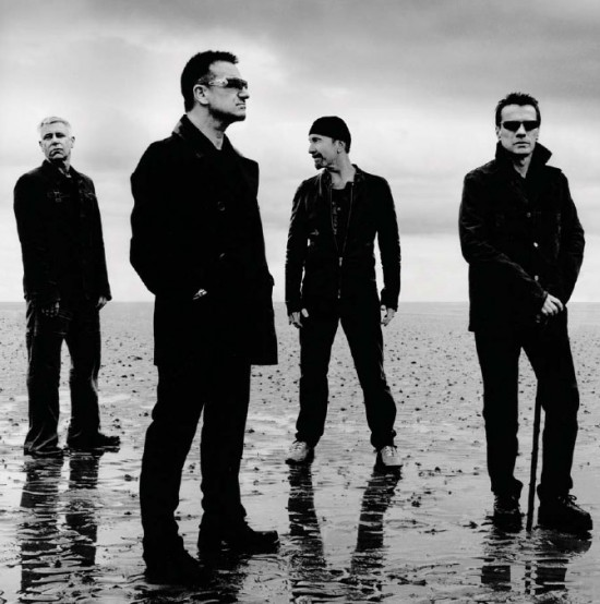 Las mejores canciones de U2 en Spotify