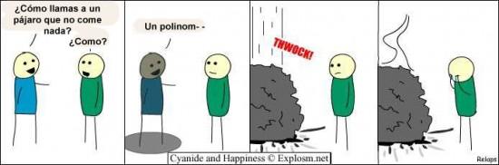 Cyanide y Happiness en español - No preguntes