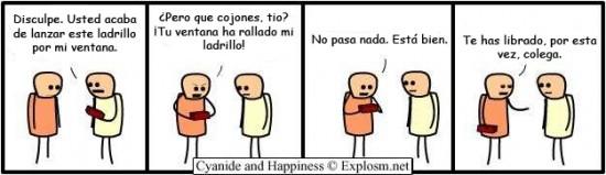 Cyanide y Happiness en español - Confundidos