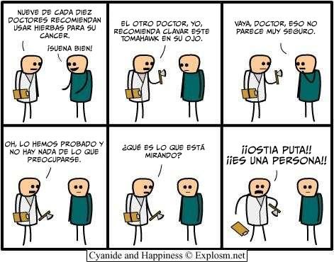 Cyanide y Happiness en español - Diagnosticos