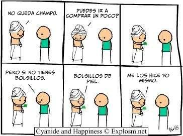 Cyanide y Happiness en español - Mejor pago yo