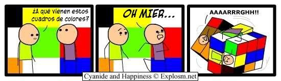 Cyanide y Happiness en español - Colores dolorosos