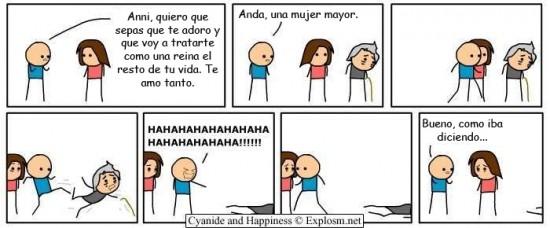 Cyanide y Happiness en español - Violencia