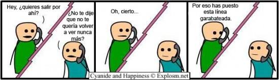Cyanide y Happiness en español - Limites