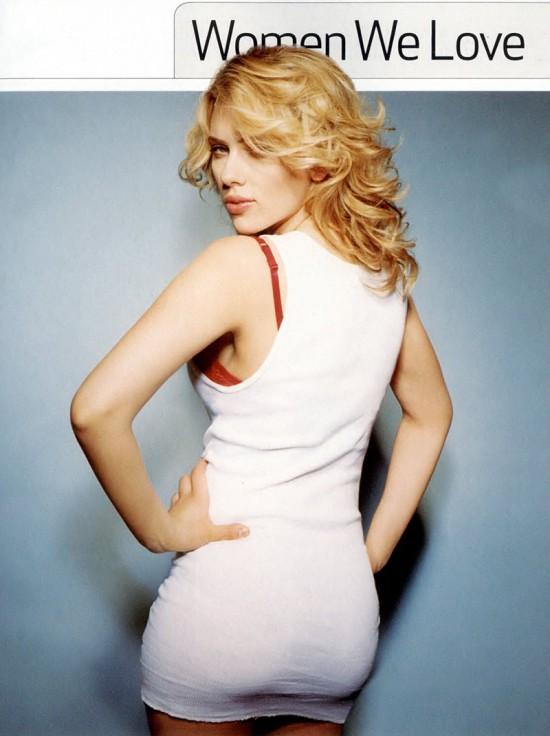 Scarlett Johansson en ropa interior