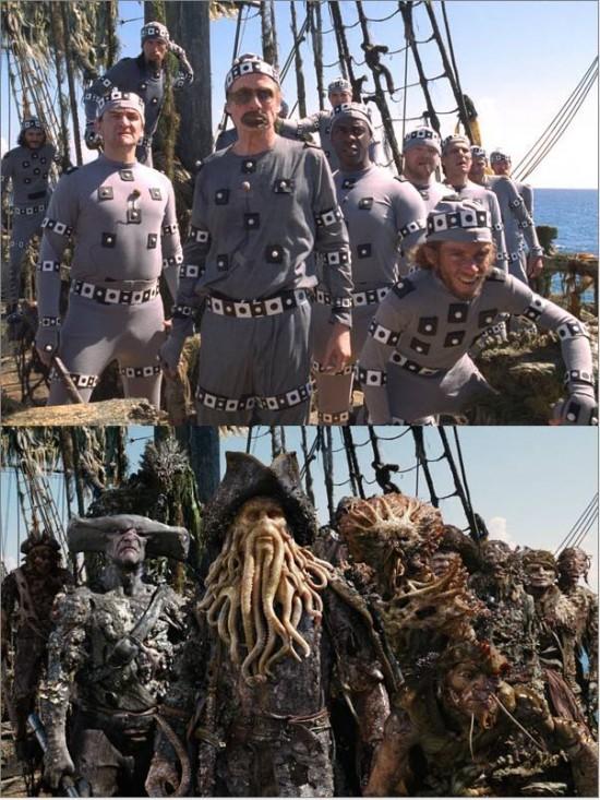 Piratas del Caribe - Efectos especiales