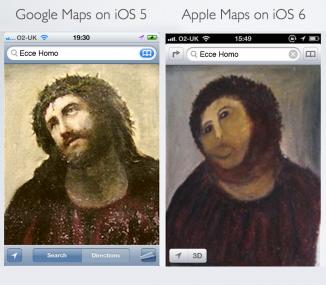 La verdadera diferencia entre los mapas iOS5 y los mapas iOS6