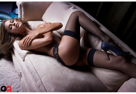 Irina Shayk en ropa interior
