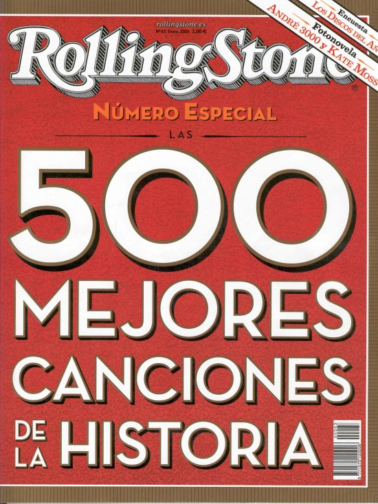 Las 500 mejores canciones de todos los tiempos según la revista Rolling Stone