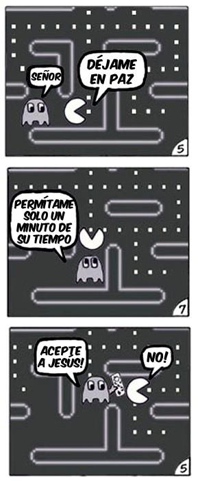 ¿De qué huía Pacman?