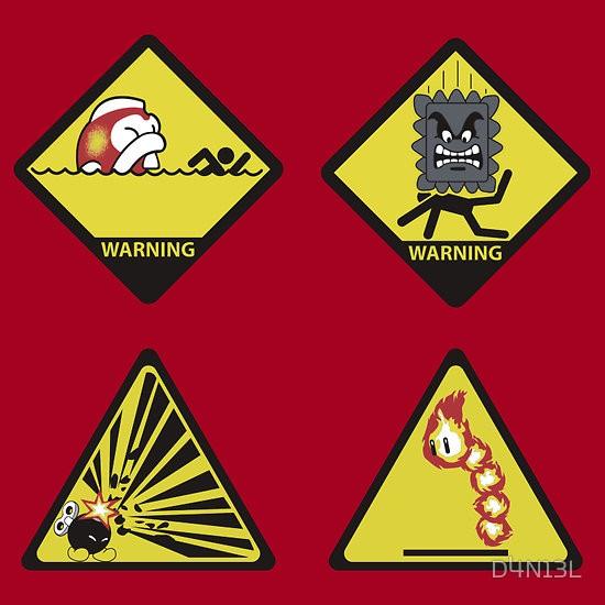 Las señales de peligro del Super Mario