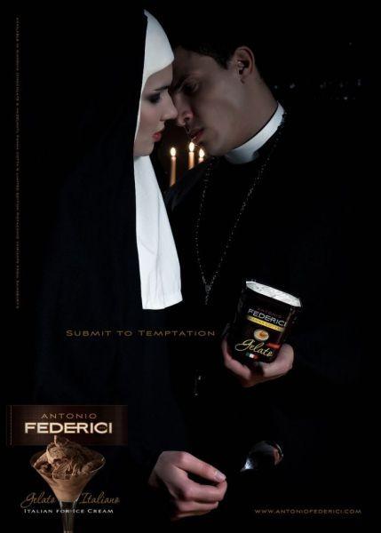 Con la Iglesia hemos topao: anuncios polémicos