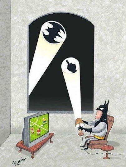 Batman está de día libre