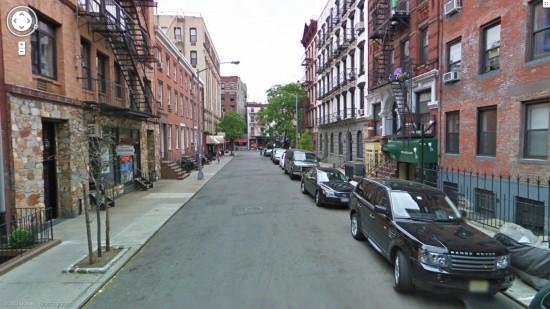 Google Street View de portadas de álbumes famosos I
