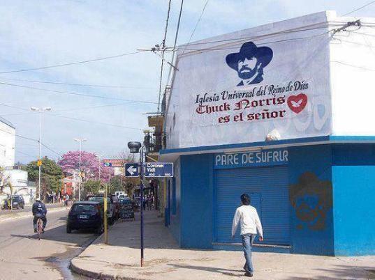 Chuck Norris tiene su propia iglesia
