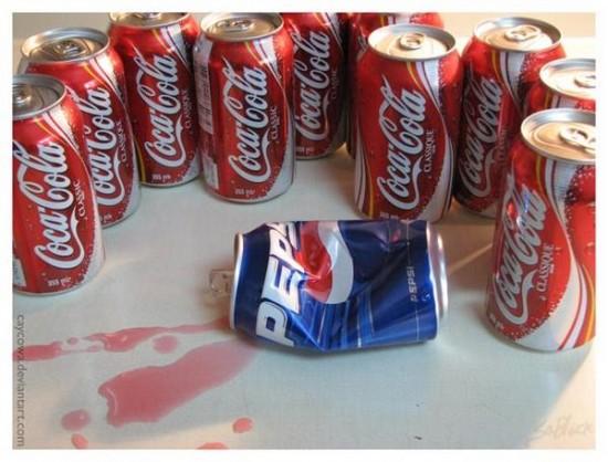 Coca Cola da una paliza a Pepsi