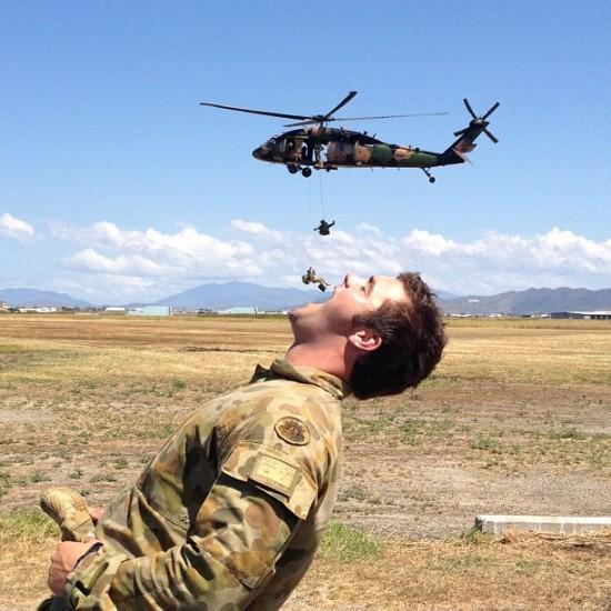 Comiendo soldados