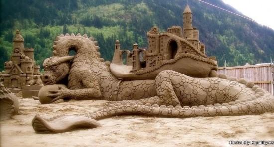 Dragón de arena