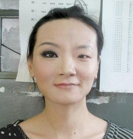 Efectos del maquillaje