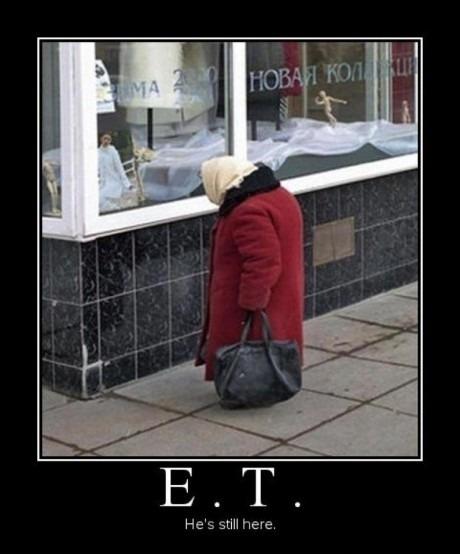ET nunca se fue