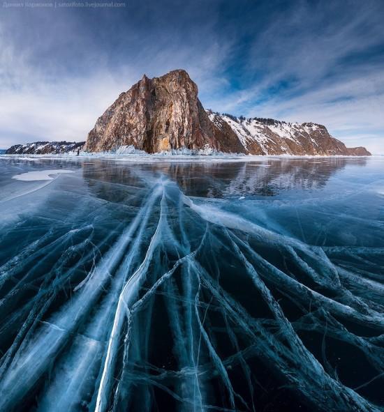 El hielo, de cerca