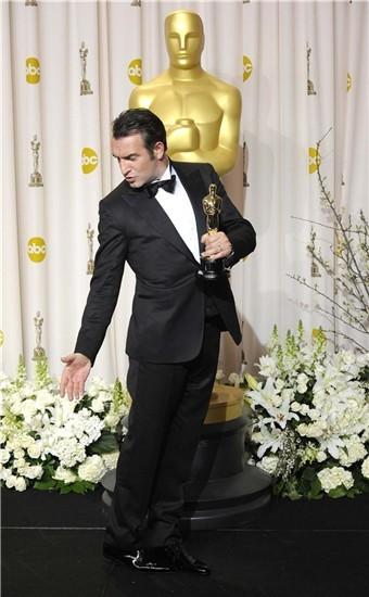 Jean Dujardin, triunfador de los Oscar 2012 con The Artist
