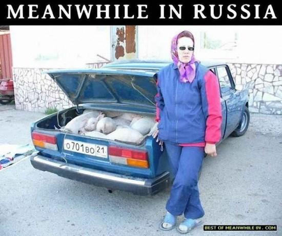 Mientras en Rusia... (I)