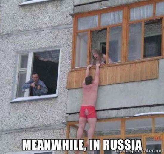 Mientras en Rusia... (VI)