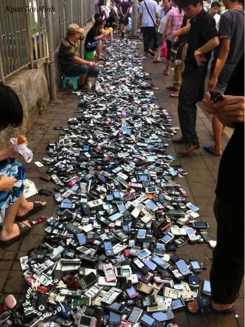 Mercado de teléfonos móviles