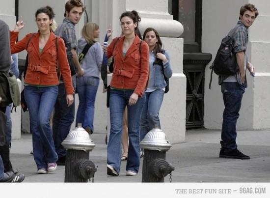 Robert Pattinson, el día que le hicieron una peineta en la calle