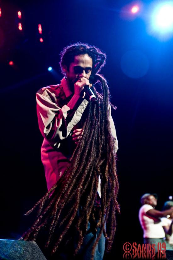 El pelo de Damien Marley