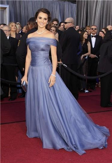 Gala de los Oscar 2012, mejor vestidas