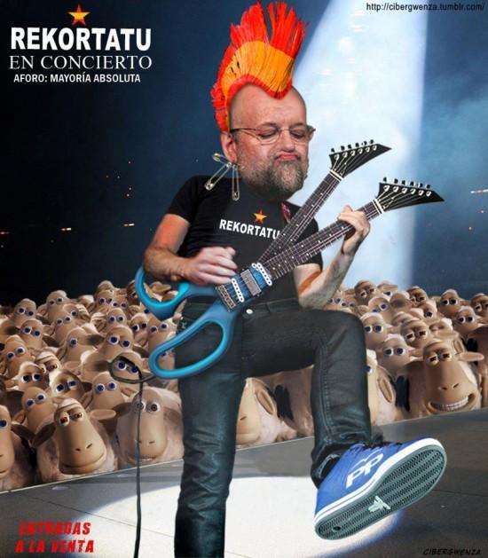 Rekortatu, Rajoy en concierto