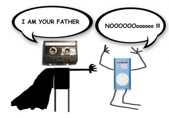 iPod, soy tu padre
