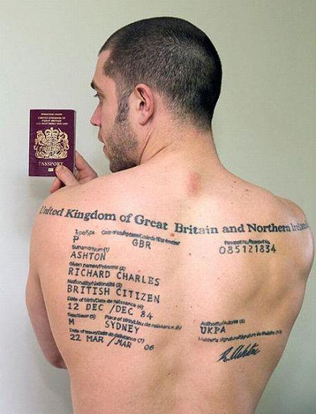 Por si se me olvida el pasaporte...