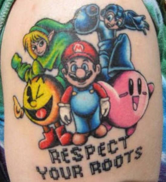 Tatuajes de personajes de videojuegos II