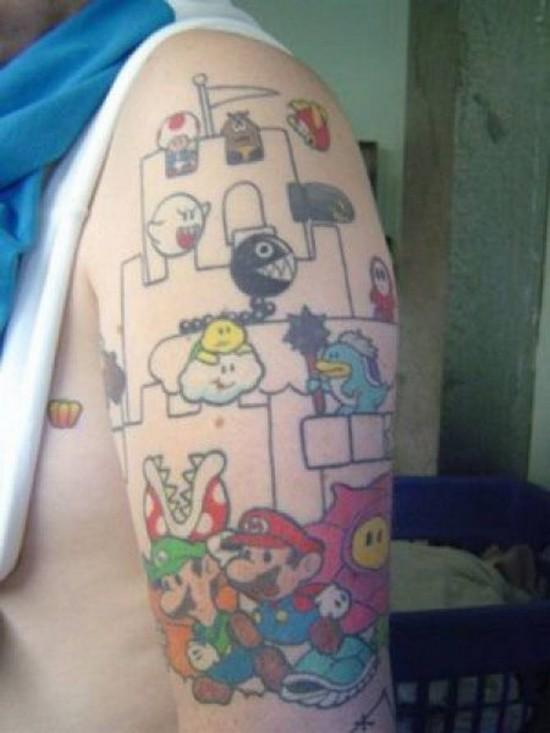 Tatuajes de personajes de videojuegos I