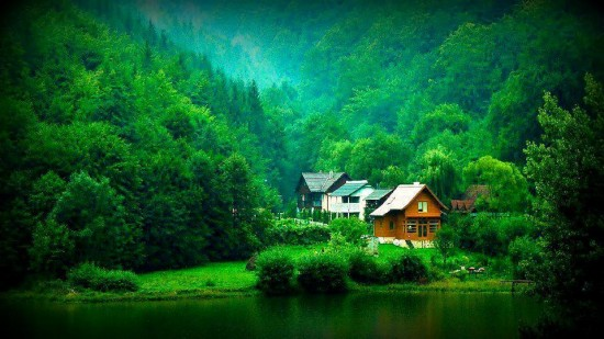 Paisaje en Transilvania