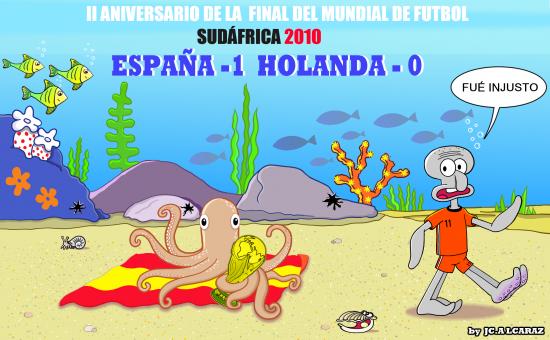 II Aniversario de la Final del Mundial de Futbol