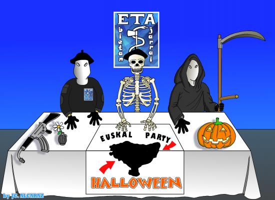 Último anuncio de la banda ETA.