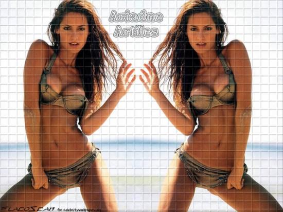 Ariadne Artiles ex de Fonsi Nieto